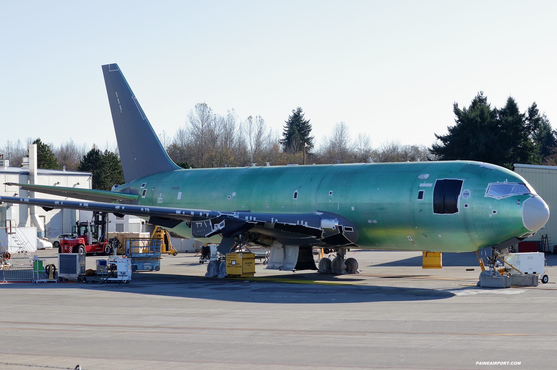 KC-46A line 1100 at Paine Field