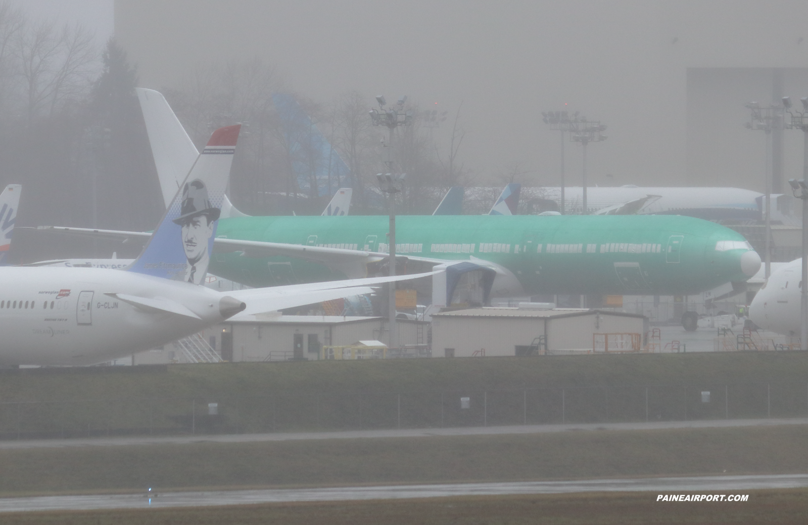 Emirates 777-9 line 1615 A6-EZM at Paine Field