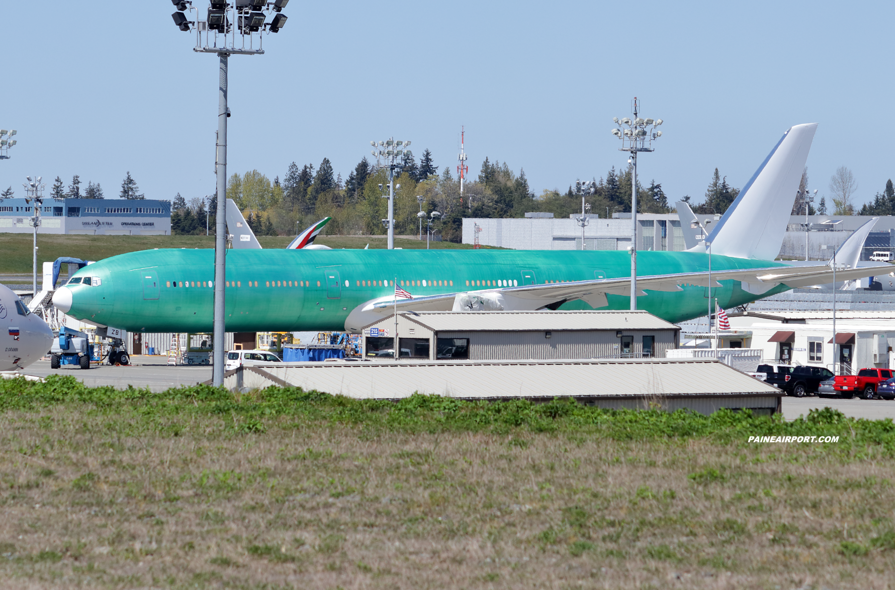 Emirates 777-9 A6-EZB at Paine Field
