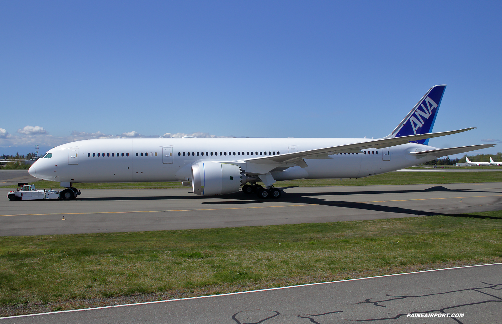 ANA 787-9 line 1003 at Paine Field
