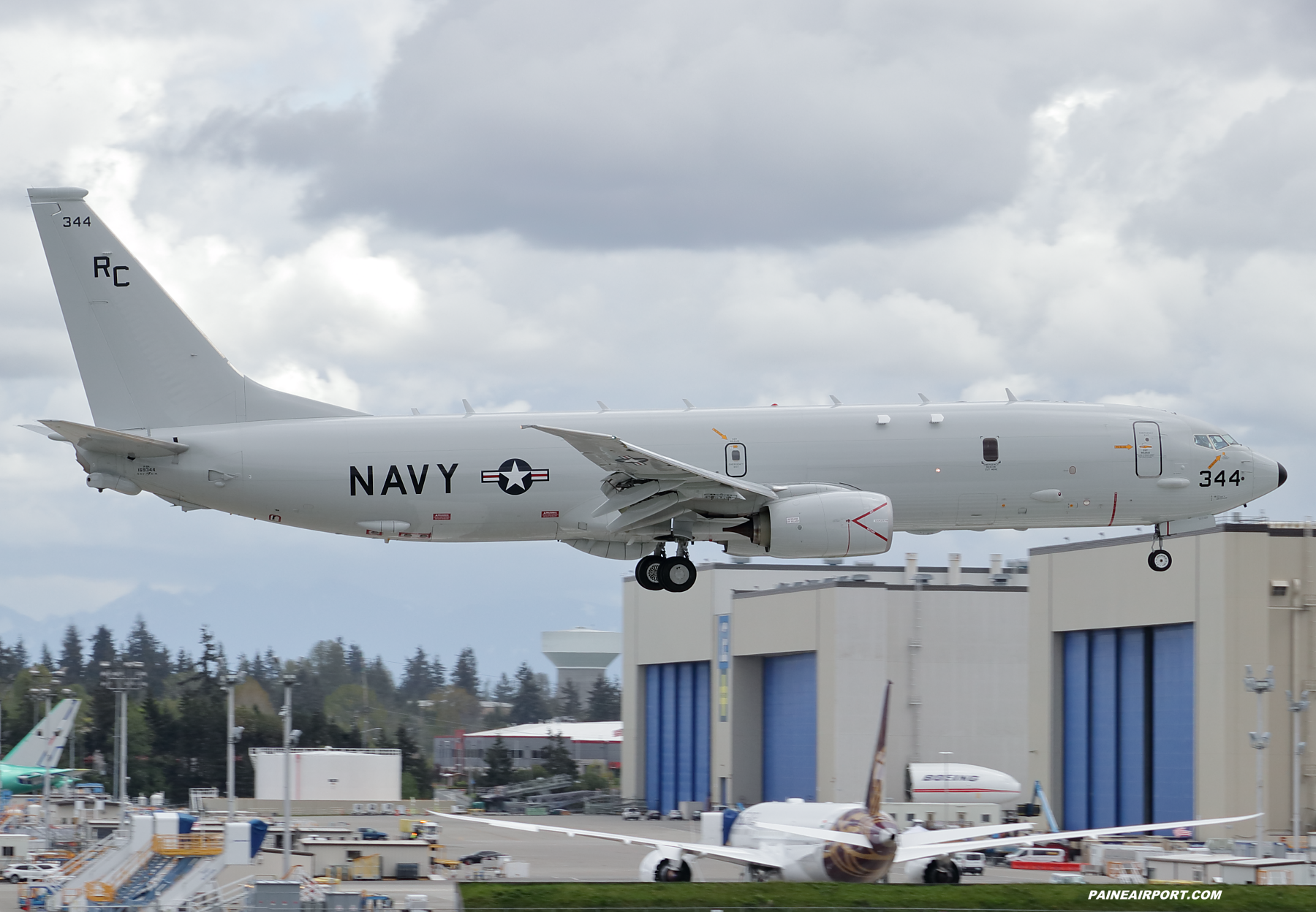 P-8A 169344 at Paine Field