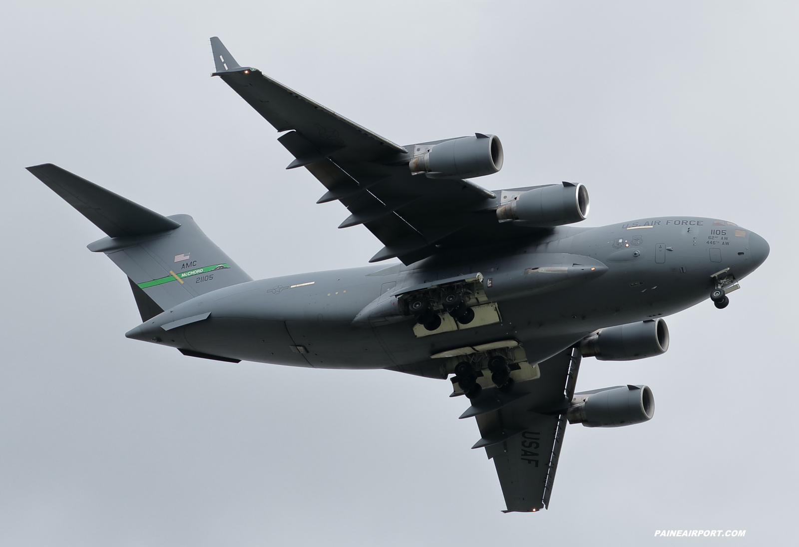 C-17A 02-1105 at Paine Field