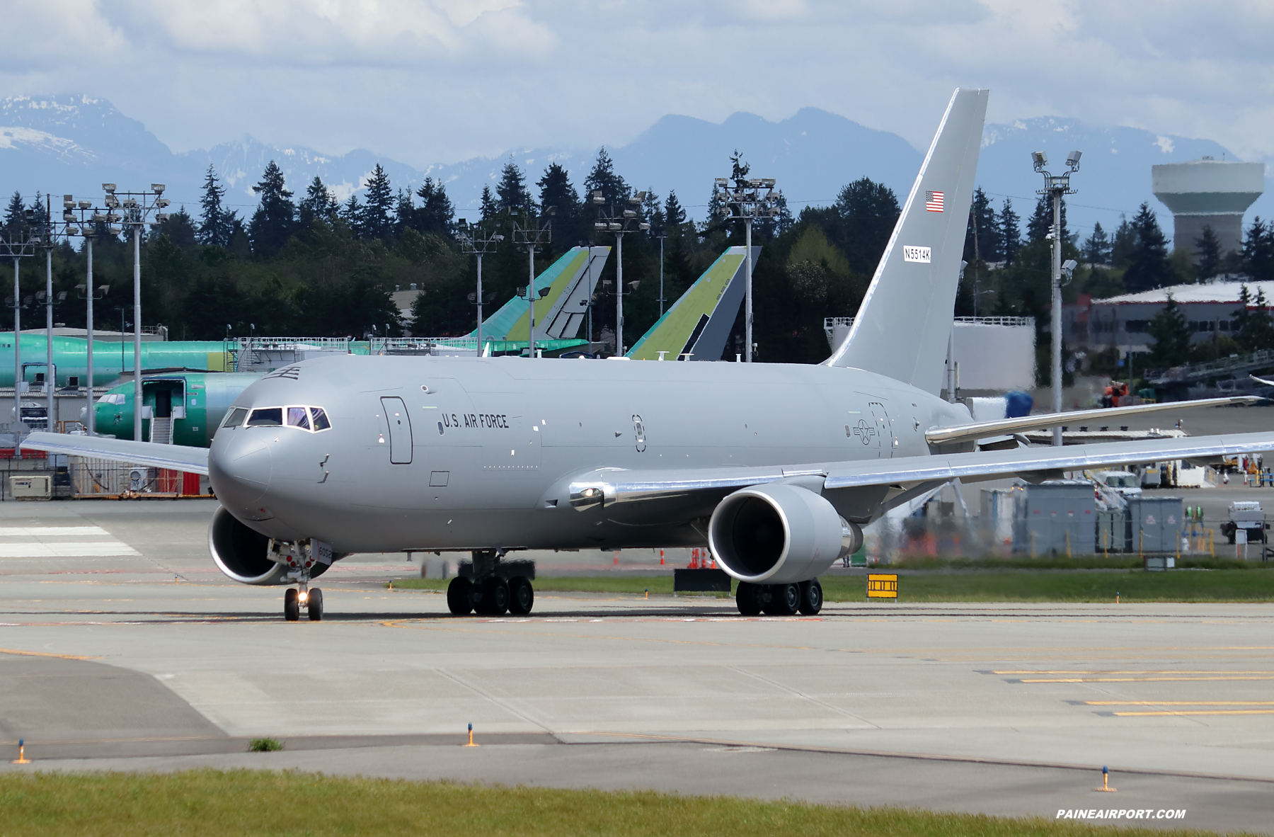 KC-46A 18-46052 at Paine Field