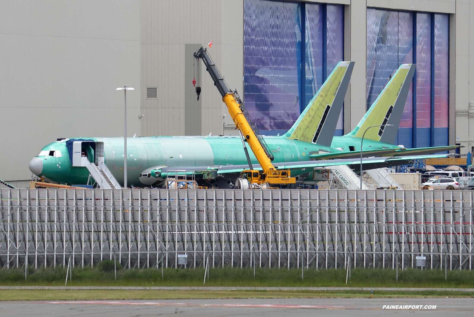 KC-46A line 1213 at Paine Field