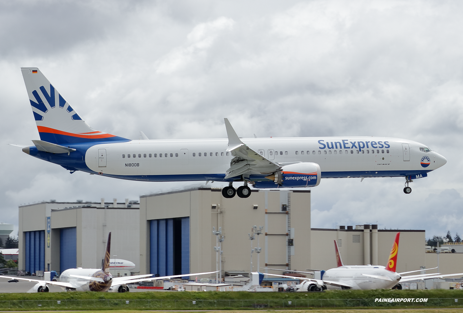 SunExpress 737 D-ASMA at Paine Field