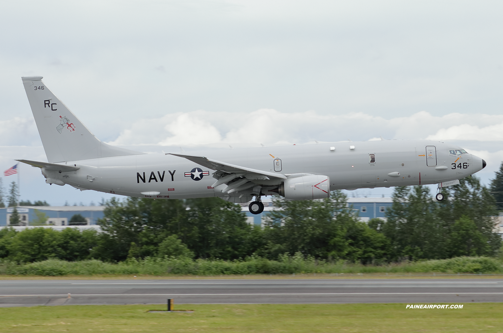 P-8A 169346 at KPAE Paine Field