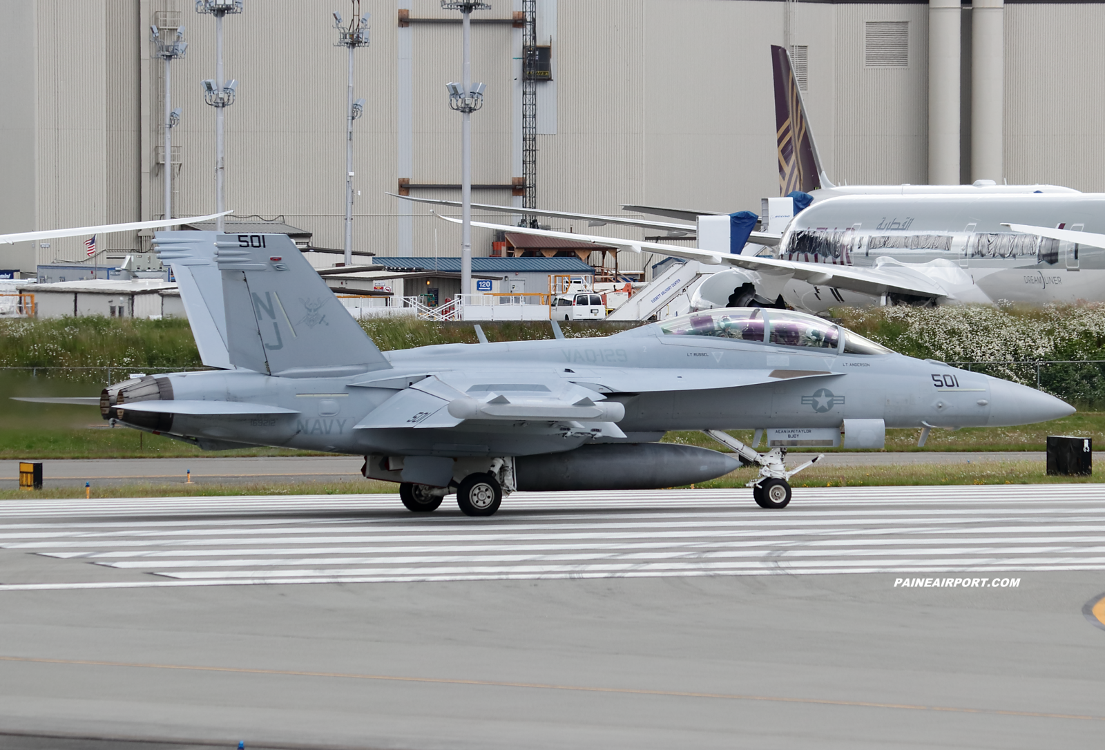EA-18G 169212 at KPAE Paine Field