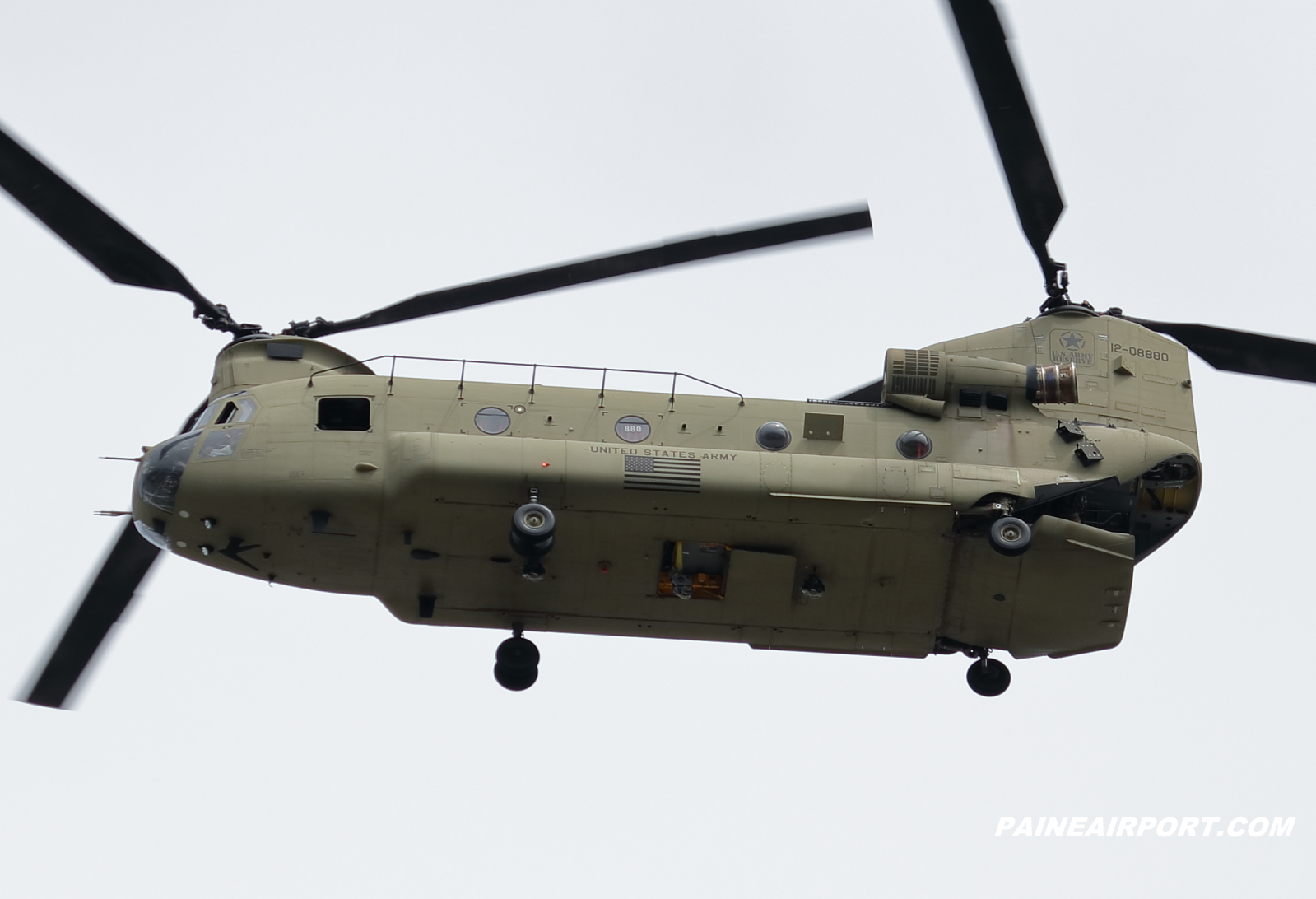 CH-47F 12-08880 at KPAE Paine Field