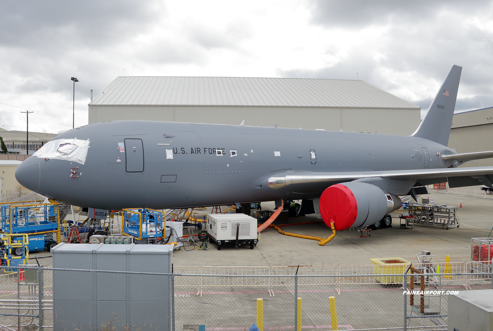 KC-46A 18-46054 at KPAE Paine Field
