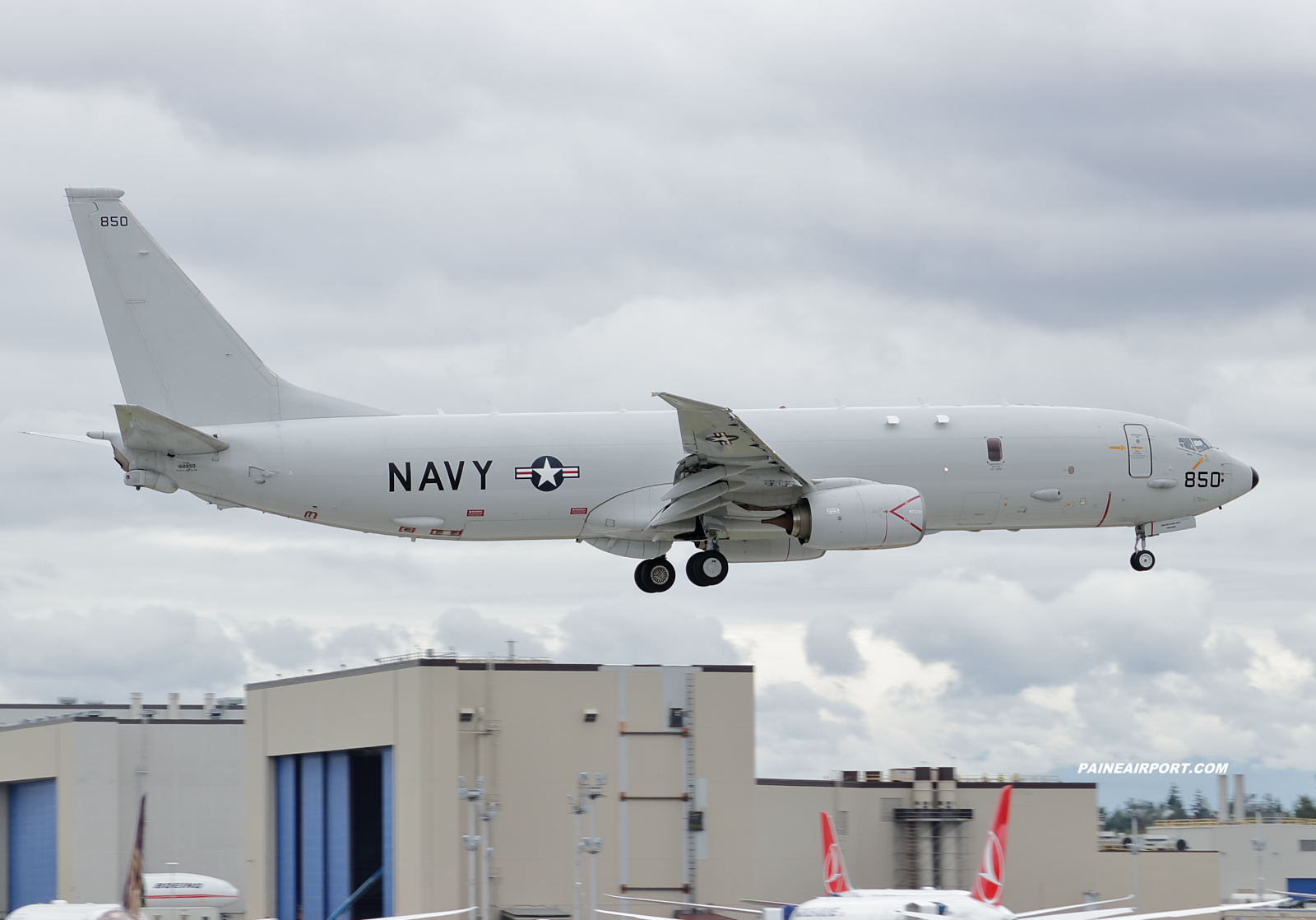 P-8A 168850 at KPAE Paine Field