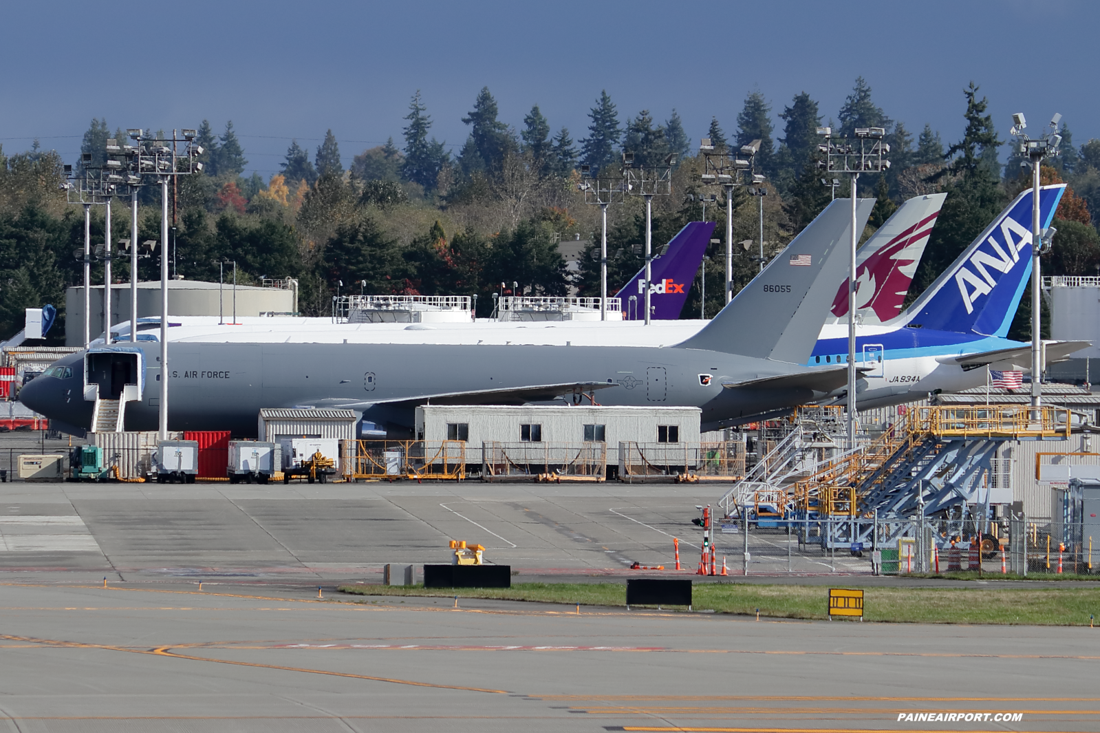 KC-46A 18-46055 at KPAE Paine Field
