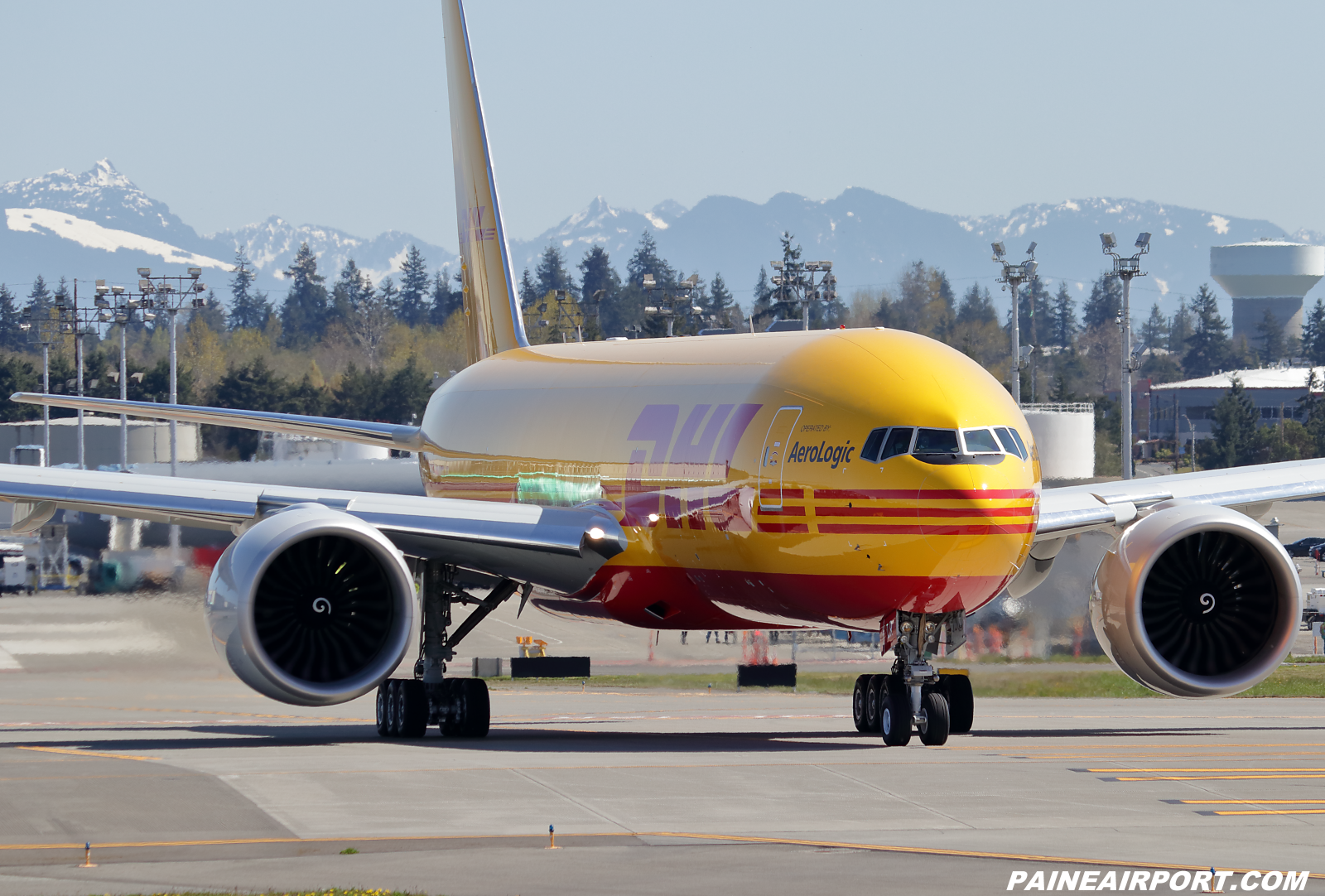 DHL 777F D-AALR at KPAE Paine Field