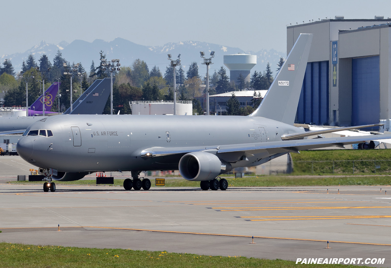 KC-46A 19-46058 at KPAE Paine Field